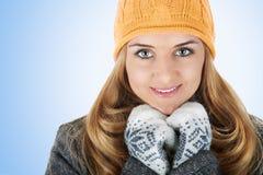 Portrait der schönen jungen Frauen stockbilder