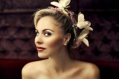 Portrait der Schönheit Stockfotos