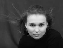 Portrait der sexuellen jungen Frau Lizenzfreies Stockfoto