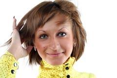 Portrait der sinnlichen jungen Frau Lizenzfreie Stockfotografie