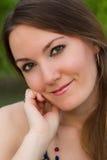 Portrait der verlockenden russischen Frau Stockbild