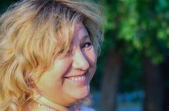 Portrait der von mittlerem Alter Frau Stockfotografie