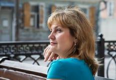 Portrait der von mittlerem Alter Frauen Lizenzfreies Stockfoto