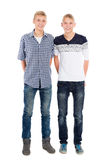 Portrait der Zwillingsbrüder Lizenzfreie Stockbilder