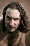 Portrait derisive young men Royalty Free Stock Images