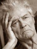 Portrait des älteren Mannes Lizenzfreie Stockbilder