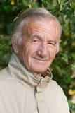 Portrait des älteren Mannes Stockfoto