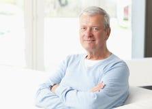 Portrait des älteren Mannes Lizenzfreies Stockfoto
