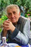 Portrait des älteren Mannes stockfotos