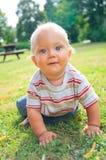 Portrait des 10-Monats-kleinen Jungen Lizenzfreie Stockfotografie
