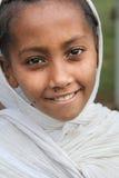 Portrait des afrikanischen Mädchens Stockbild