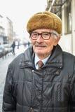 Portrait des aktiven Älteren Stockfotos
