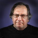 Portrait des alten Mannes Stockfoto