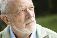 Portrait des alten Mannes lizenzfreies stockbild