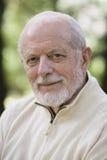 Portrait des alten Mannes Stockbild