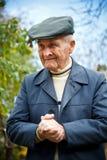 Portrait des alten Mannes stockbilder