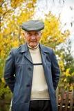 Portrait des alten Mannes stockfotos