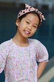 Portrait des asiatischen Mädchens stockbilder