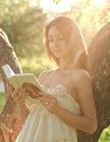 Portrait des attraktiven jungen Mädchens Stockfotos