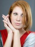 Portrait des beautiul Mädchens lizenzfreie stockfotografie