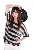 Portrait des chinesischen Mädchens. Stockfoto