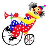 Portrait des Clowns Stock Abbildung