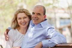 Portrait des couples mûrs de famille Images stock