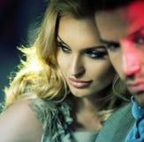 Portrait des couples sensuels Images stock