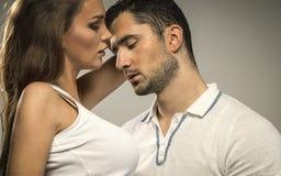 Portrait des couples sexy Photos stock