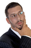 Portrait des denkenden Leitprogramms Lizenzfreie Stockfotografie