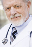 Portrait des Doktors stockbilder