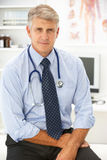 Portrait des Doktors Stockfotografie