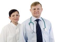 Portrait des Doktors. Lizenzfreies Stockfoto
