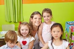 Portrait des enfants Image stock