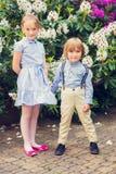 Portrait des enfants adorables, dehors photos libres de droits