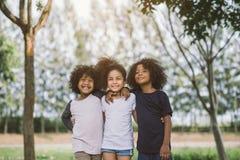 Portrait des enfants d'afro-américain Image stock