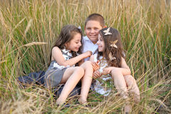 Portrait des enfants en bas âge Photo stock
