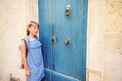 Portrait des entzückenden kleinen Mädchens Lizenzfreie Stockfotografie