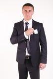 Portrait des erfolgreichen Geschäftsmannes Lizenzfreies Stockfoto