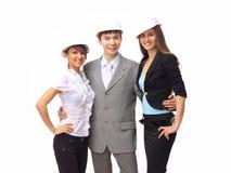Portrait des freundlichen Geschäftsteams Lizenzfreie Stockbilder