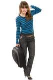 Portrait des freundlichen Mädchens Lizenzfreies Stockfoto