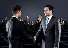 Portrait des gens d'affaires. Photographie stock libre de droits