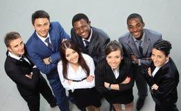 Portrait des gens d'affaires enthousiastes Image libre de droits