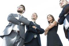 Portrait des gens d'affaires sûrs de groupe Photographie stock
