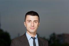 Portrait des Geschäftsmannes Stockbild