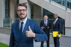 Portrait des Geschäftsteams Stockfoto