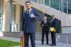 Portrait des Geschäftsteams Stockbild