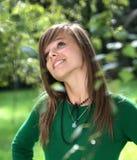 Portrait des herrlichen Mädchens Lizenzfreies Stockfoto