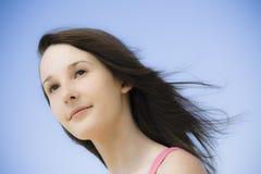Portrait des jugendlich Mädchens stockbilder