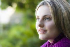 Portrait des jugendlich Mädchens lizenzfreies stockfoto